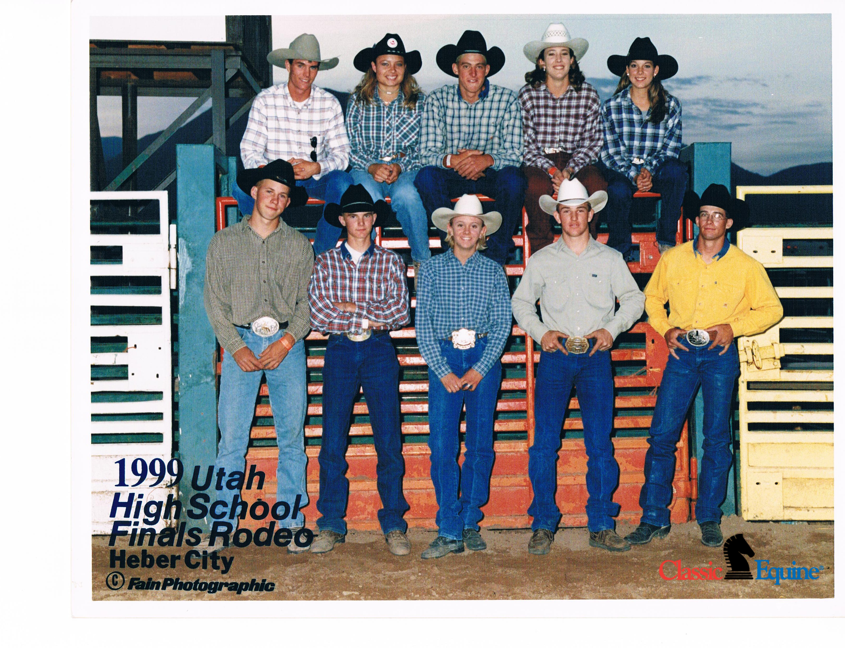 1999 Kassie High School Finals Heber City UT_logo
